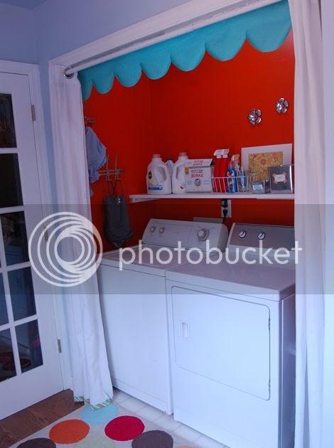Just Deanna My Happy Orange Laundry Closet
