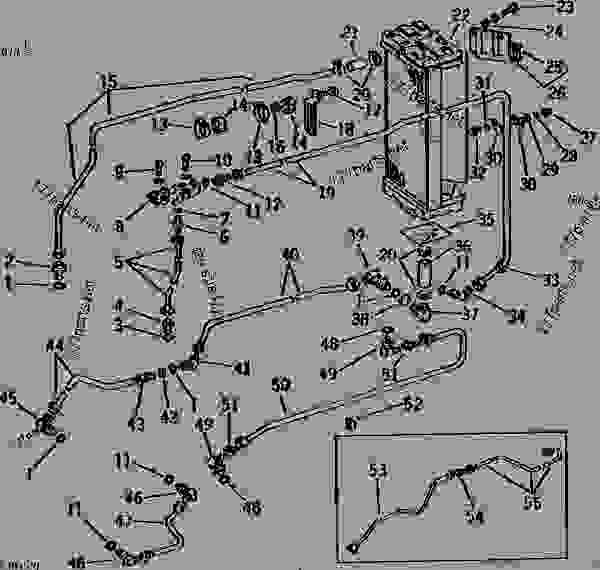 John Deere 4020 Hydraulic System Diagram