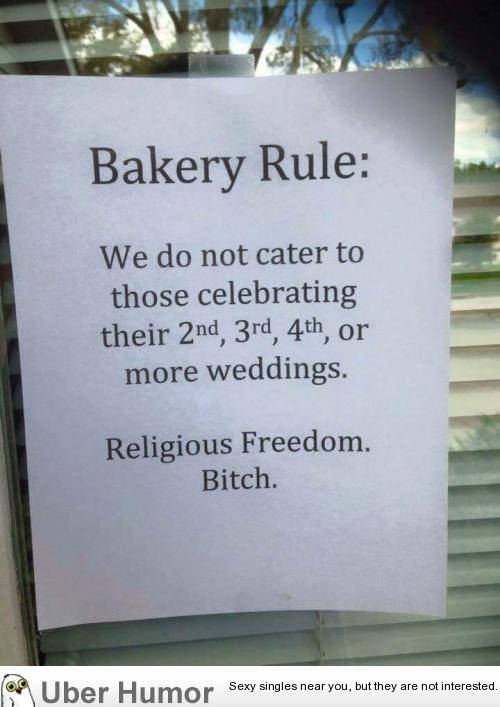 Best Response Ive Seen To Indianas Religious Freedom Act Funny