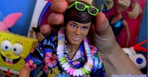 Toy Story 3 Hawaiian Vacation toys review Férias no Havaí Barbie Ken Woody Buzz Jessie