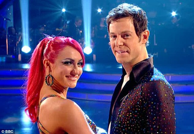 On-screen chemistry: Matt and Aliona get on incredibly well, which is partly the reason they dance so well together