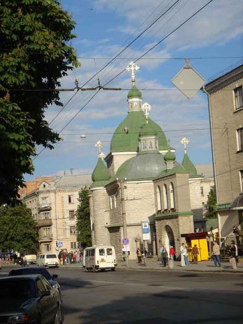 West Ukraine, Ternopil: The Church of Christmas (Orthodoxy)