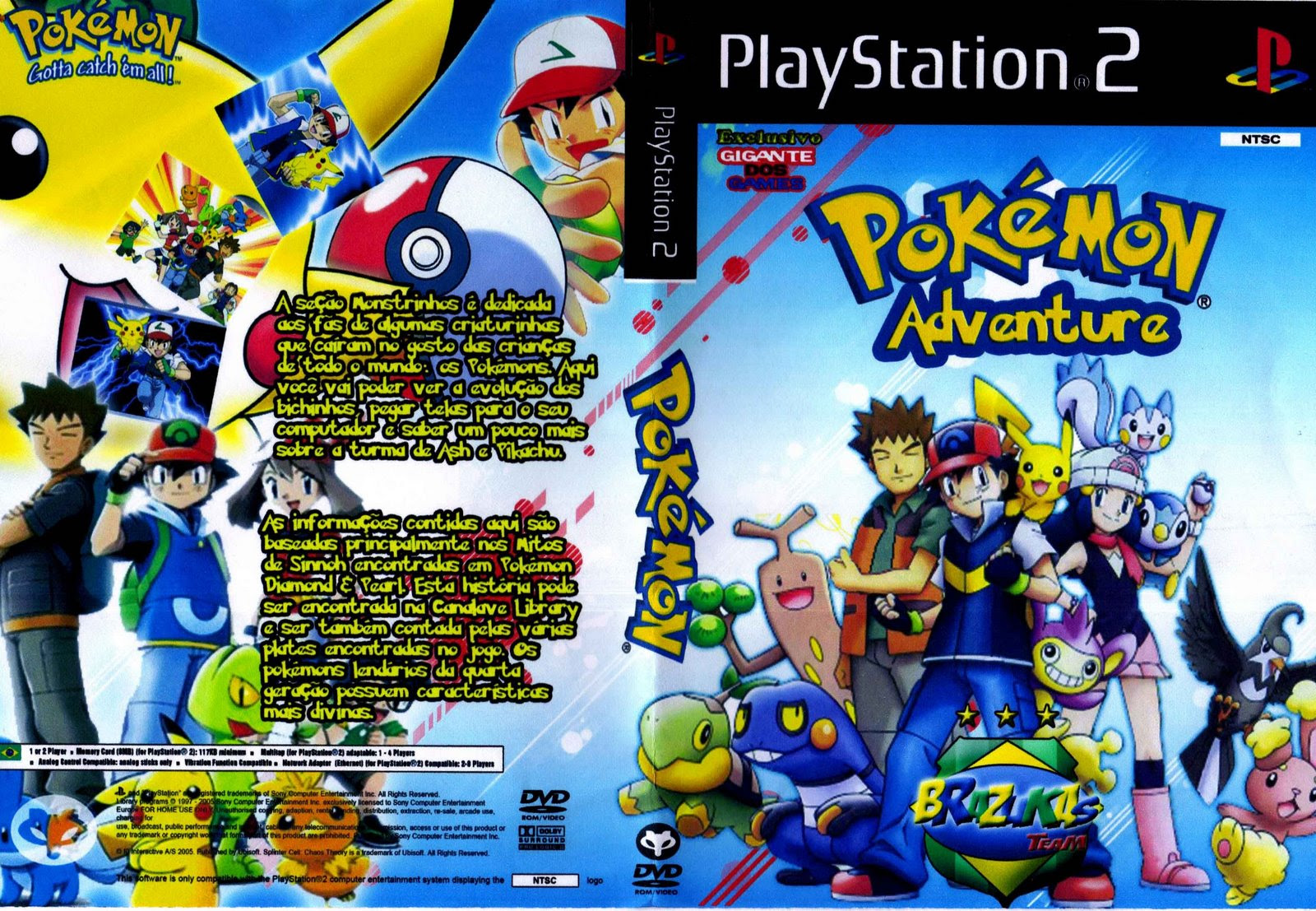 Baixar Pokemon Adventures Ps2 Completo  Apps Directories