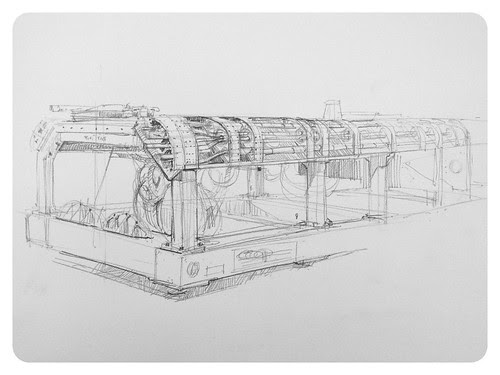 Bloodhound SSC lower chassis by Stefan Marjoram