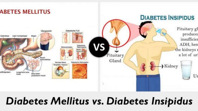 diabetes insípida central síntomas de la menopausia