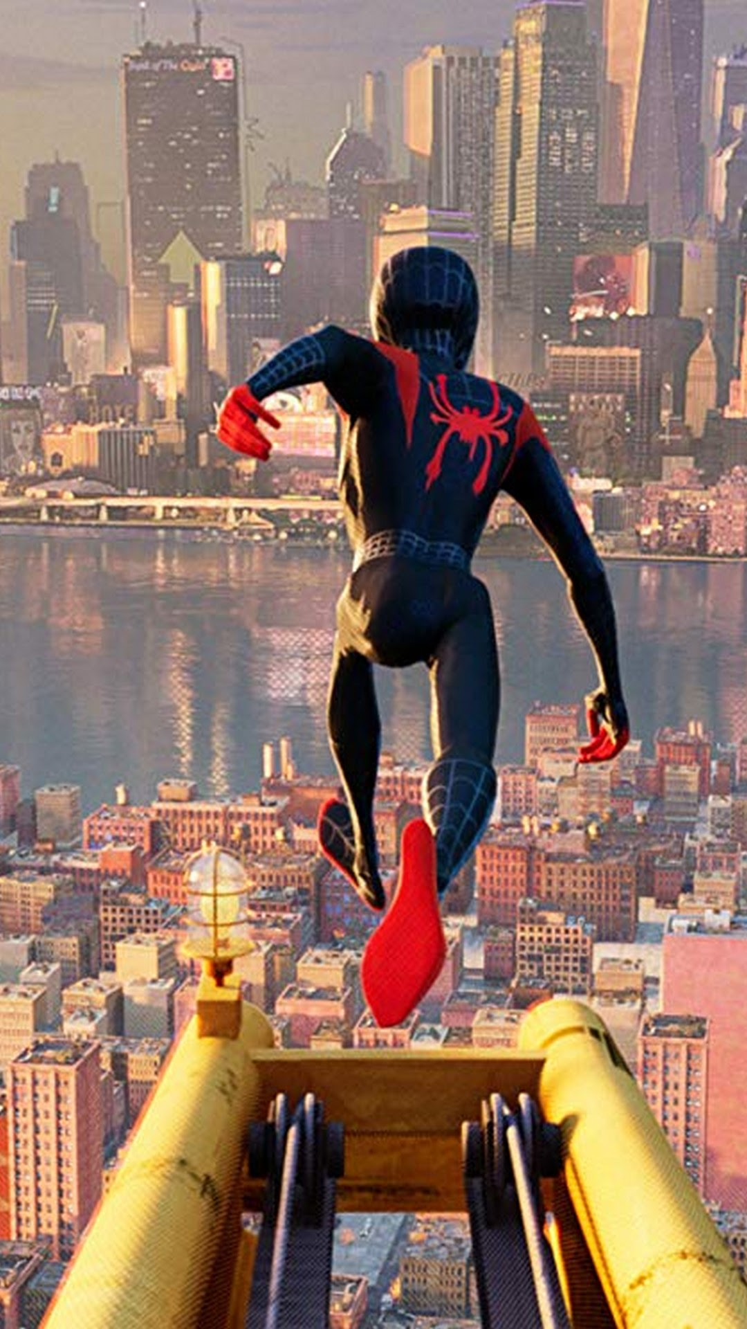Anime Images Spider Man Into The Spider Verse Wallpaper Hd Download