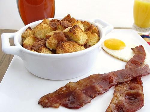brioche breakfast pudding