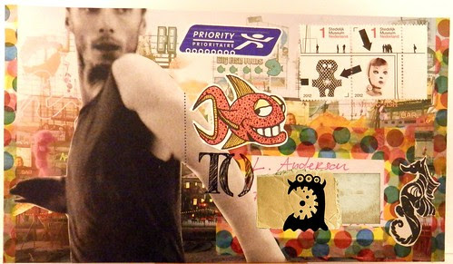 Mail Art 365-287 front by Miss Thundercat