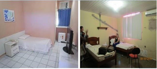 Justiça constata que foto divulgada não é do local da prisão de Lidiane Leite