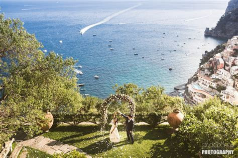 Colourful destination wedding in Positano, Amalfi Coast