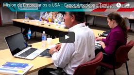 Video 2 Mision de Empresarios a USA