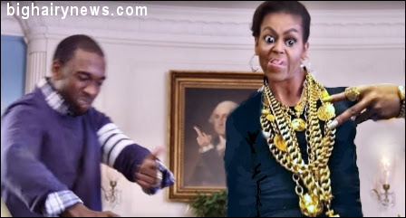 Image result for michelle obama and rappers