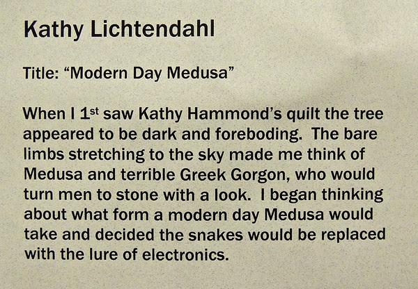 Modern Medusa by Kathy Lichtendahl