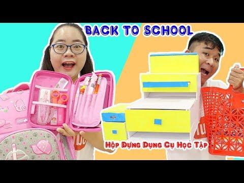 BACK TO SHOOL - Cuộc Thi Đồ Dùng Học Tập Gọn Gàng | Lớp Học Bá Đạo