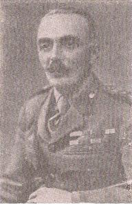 Ο Διοικητής της Ι Μεραρχίας Συνταγματάρχης Ζαφειρίου Νικόλαος