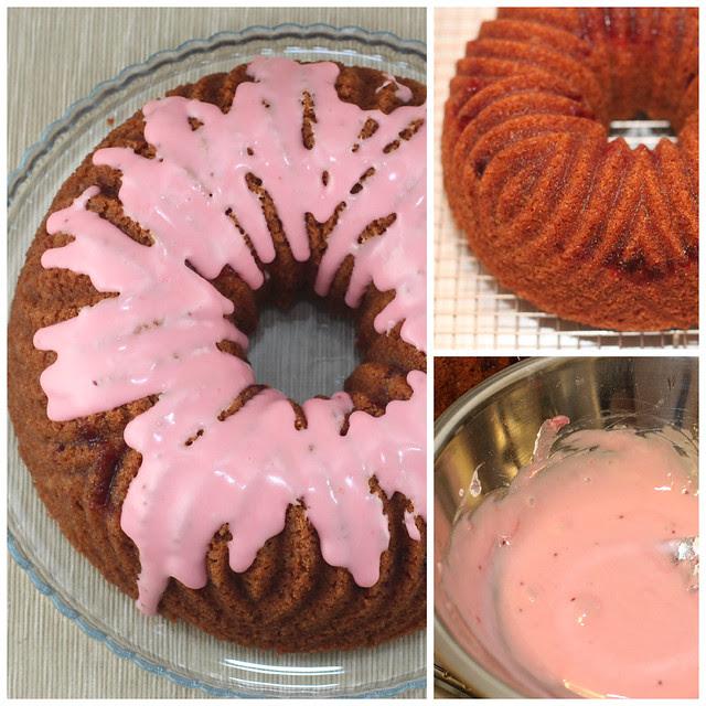 Cranberry Crème Fraîche Bundt