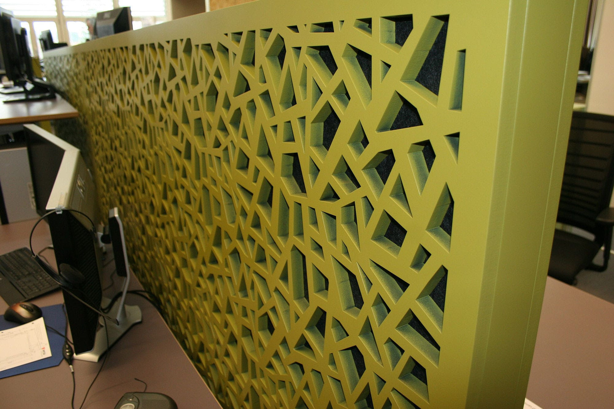 Partition Wall Acoustic Panel Mdf Decorative Perforated