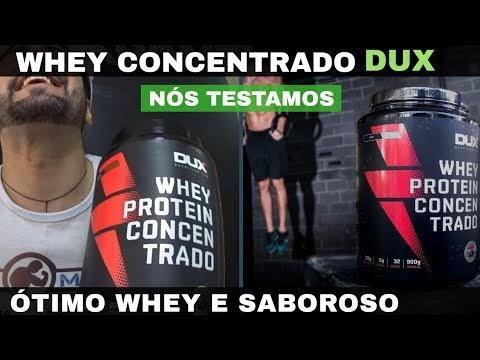 WHEY PROTEIN CONCENTRADO DUX NUTRITION UM WHEY SABOROSO E DE QUALIDADE