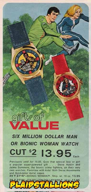 six million dollar man watch