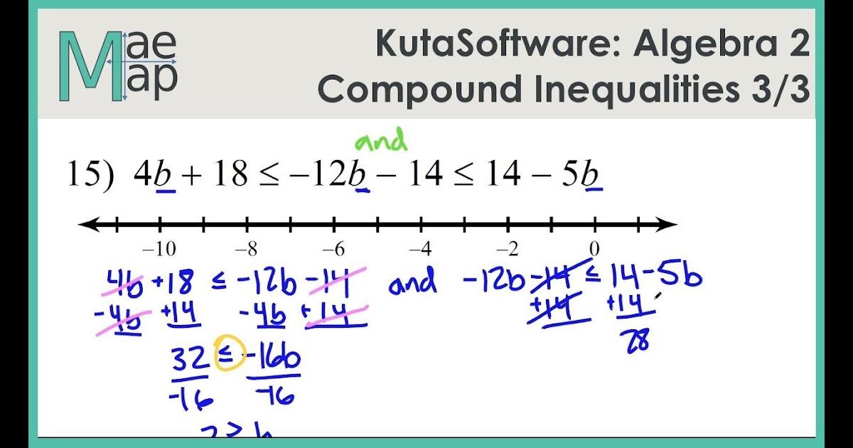 30 Compound Inequalities Worksheet Algebra 2 - Worksheet ...