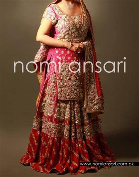 New Fashion of Bridal Dresses Pics 2016 2017 in Pakistan