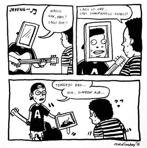 komik strip lucu kekinian  bikin ngakak sampai mules
