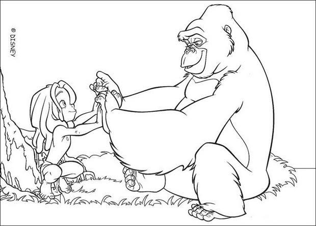 dschungelbuch malvorlagen zum drucken  kinder zeichnen