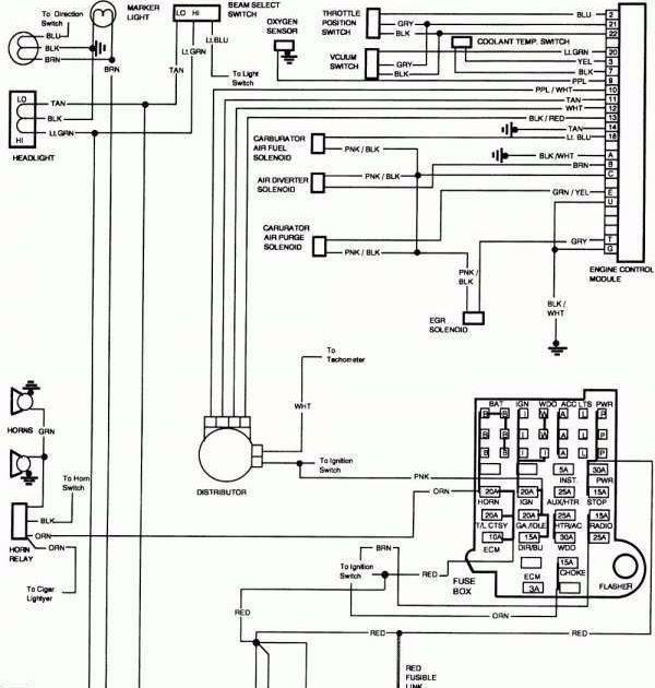 79 Chevy K10 Wiring Diagram Schematic