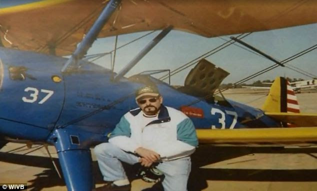 Hobby: The recreational pilot, 60, said that he felt deeply for the families who have lost their loved ones