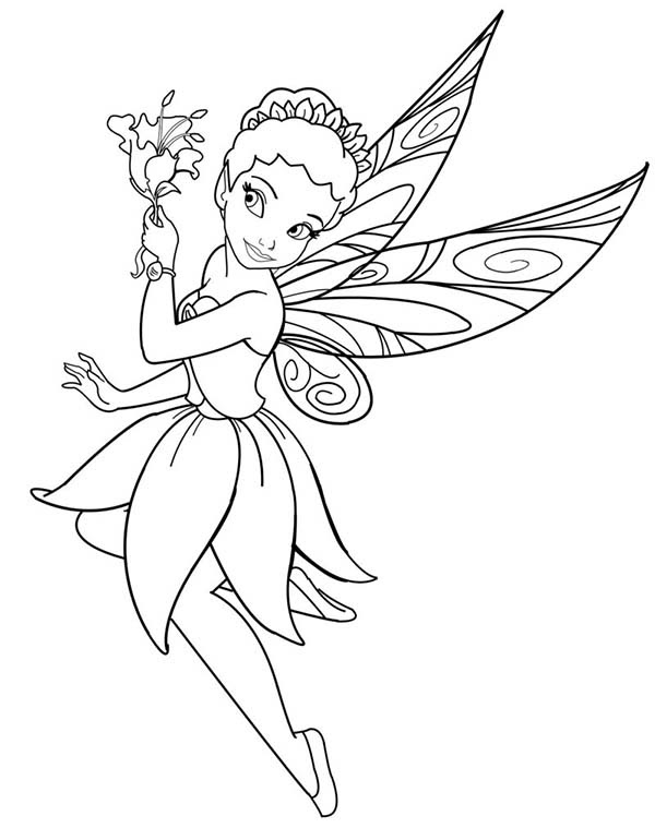 Ballerina Fairy Coloring Pages at GetColorings.com   Free ...