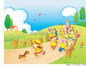 87+ Gambar Pemandangan Untuk Anak HD