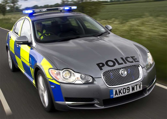 Jaguar-XF-Police-Car