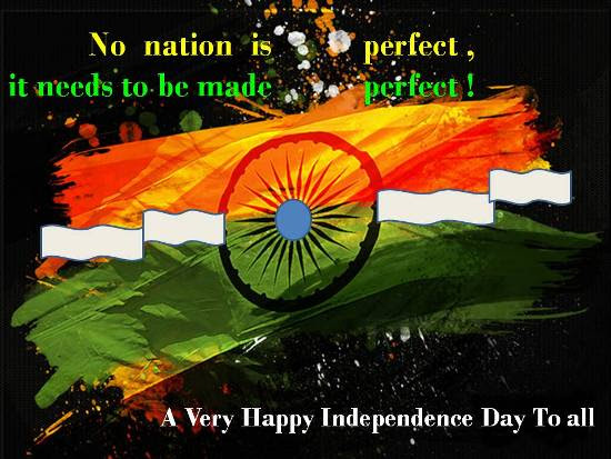 Warm Greetings On Independence Day Free Independence Day India