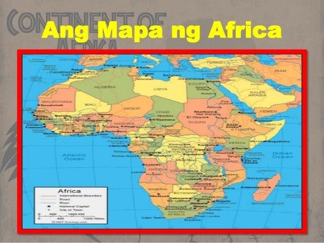 25 Fresh Mapa Ng Africa