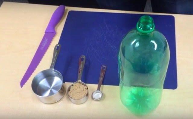 ловушка для комаров из бутылки