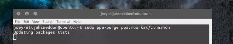 downgrade-ppa-purge