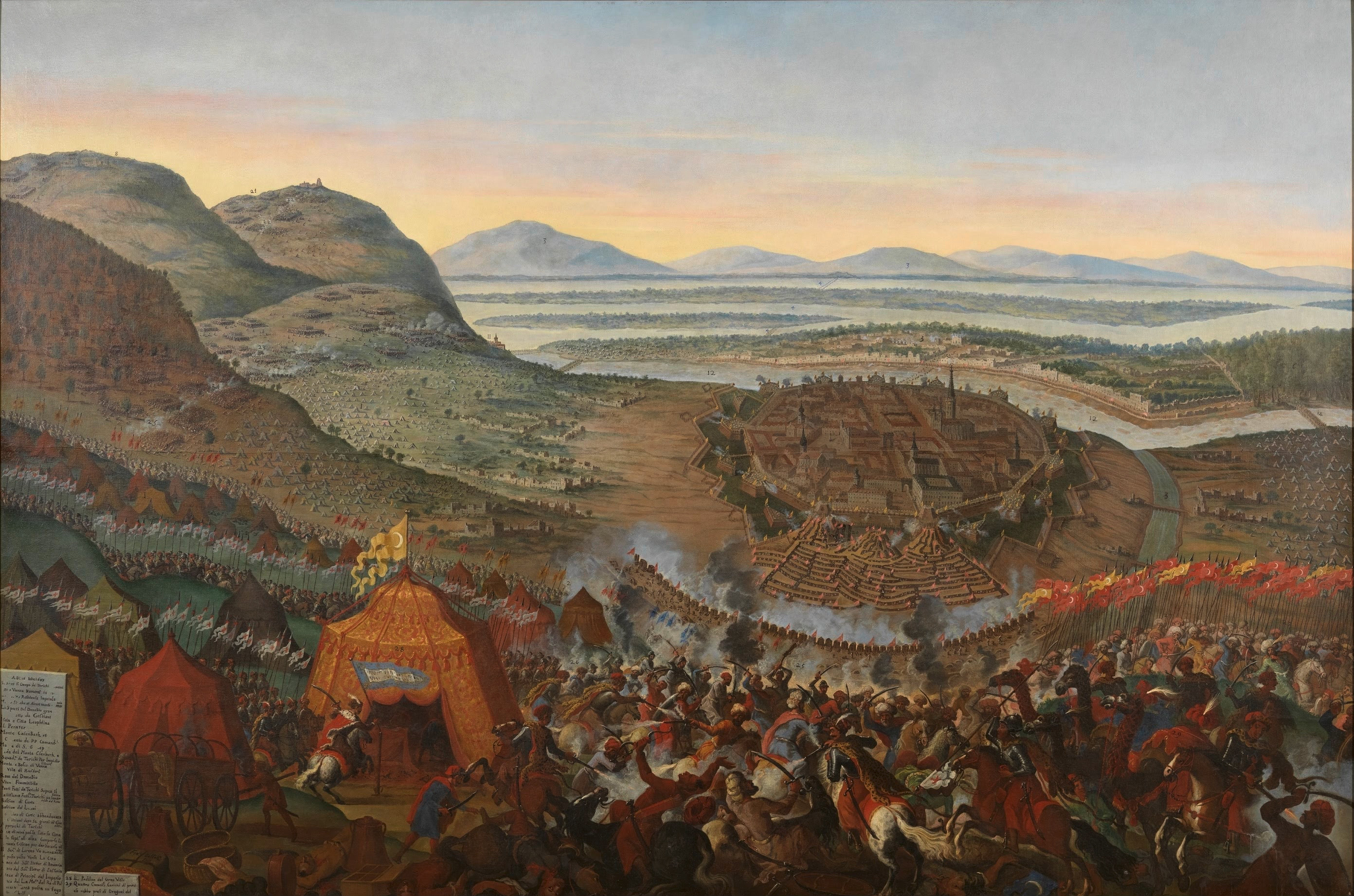 Franz Geffels: Entsatzschlacht von Wien 1683
