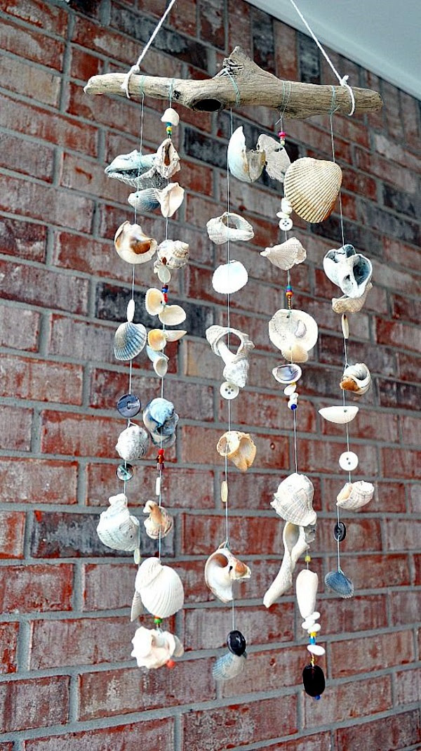 DIY Wind Chime Ideas to Try This Summer (35)