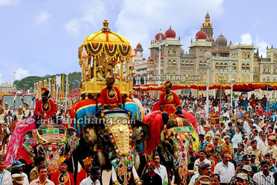 Image result for Mysore Dasara is the procession