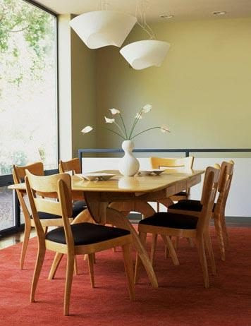 Green Dining Rooms - Green | Fresh Home