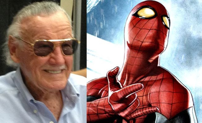Stan Lee Draws Spider-Man