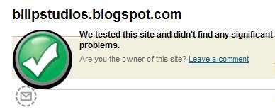 SiteAdvisor approves BillP Studios