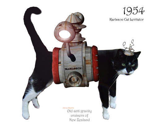 1954 Karlsson Cat Levitator by Mr Thinktank