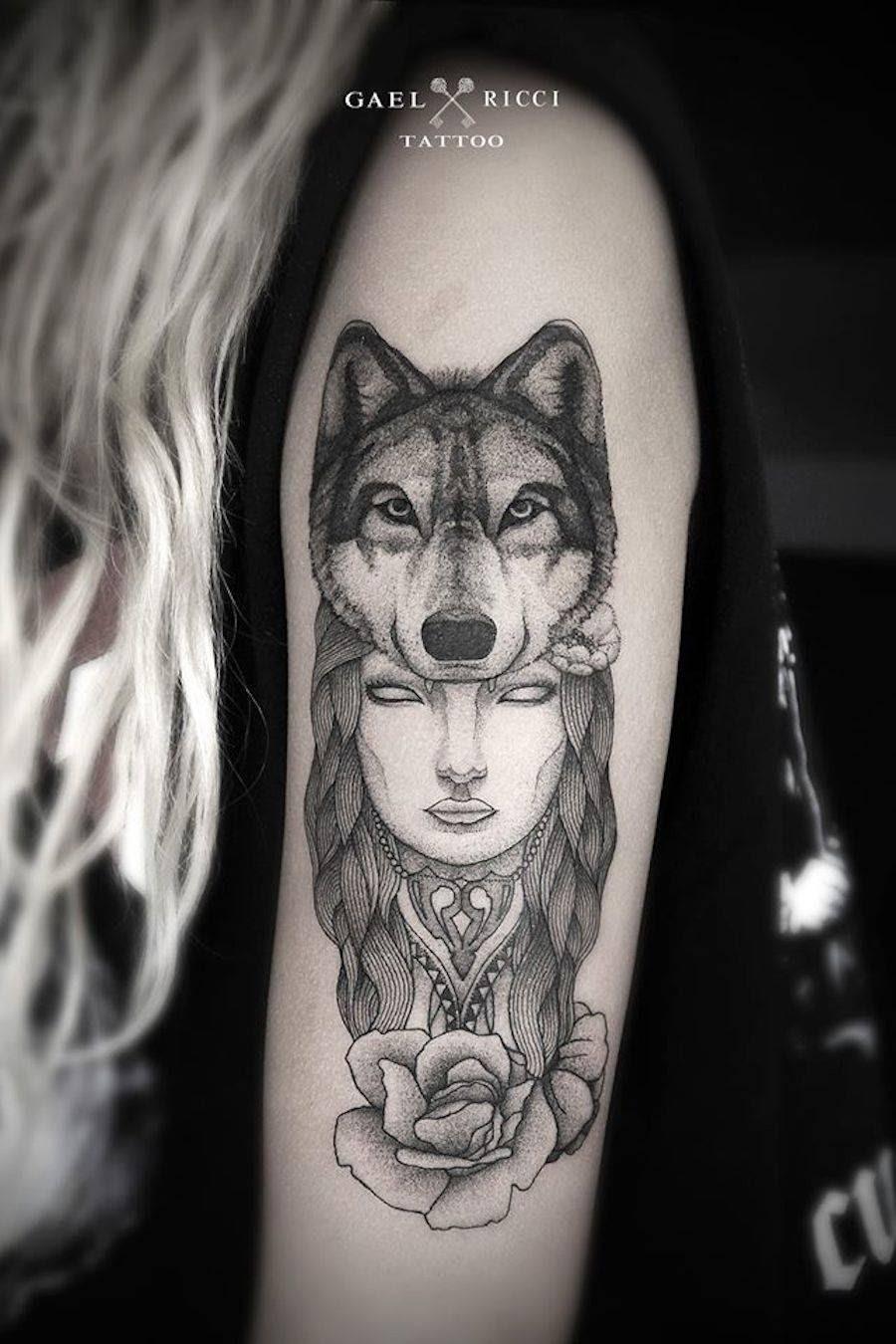 I Tattoo In Bianco E Nero Di Gael Ricci Tulipanorosa