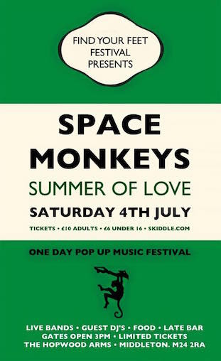 Space Monkeys Summer of Love 2015