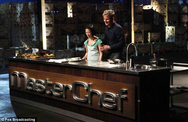 Smell, touch, taste: The sightless cook has already had an effect on the usually ill-tempered Gordon Ramsay with her impressive culinary skills, despite losing her sight in 2007