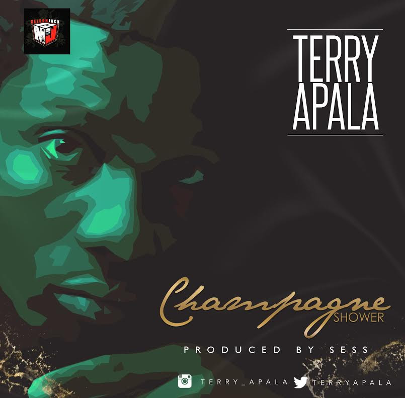 Terry Apala Champagne Showers Art