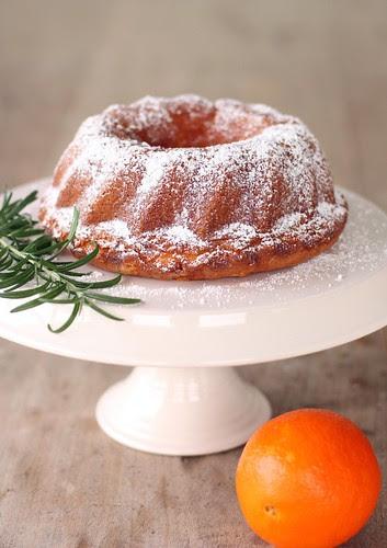 rosemary-orange cake