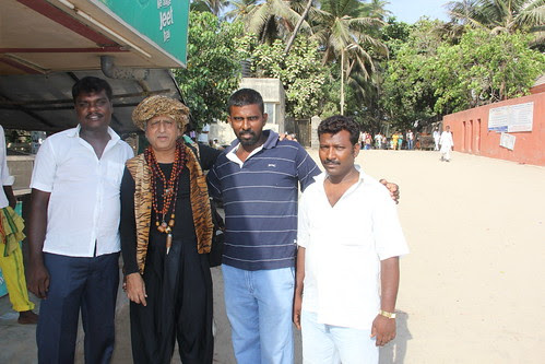 My Tamil Friends From Madras Wadi Worli At Juhu Beach by firoze shakir photographerno1