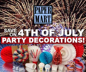 4th of July Decorations up to 30% Off!